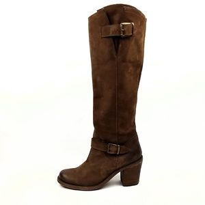 Steven By Steve Madden Tall Leather Boots Size 7